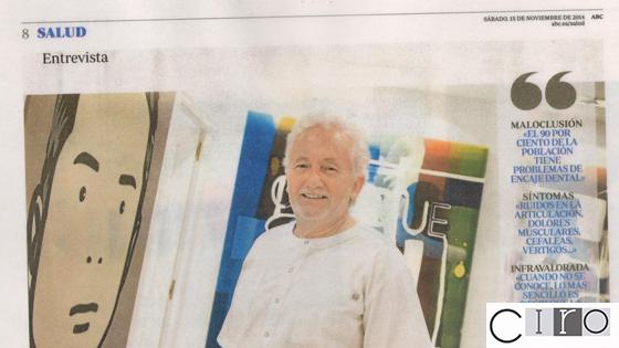Dr. Vicente Jiménez en la prensa