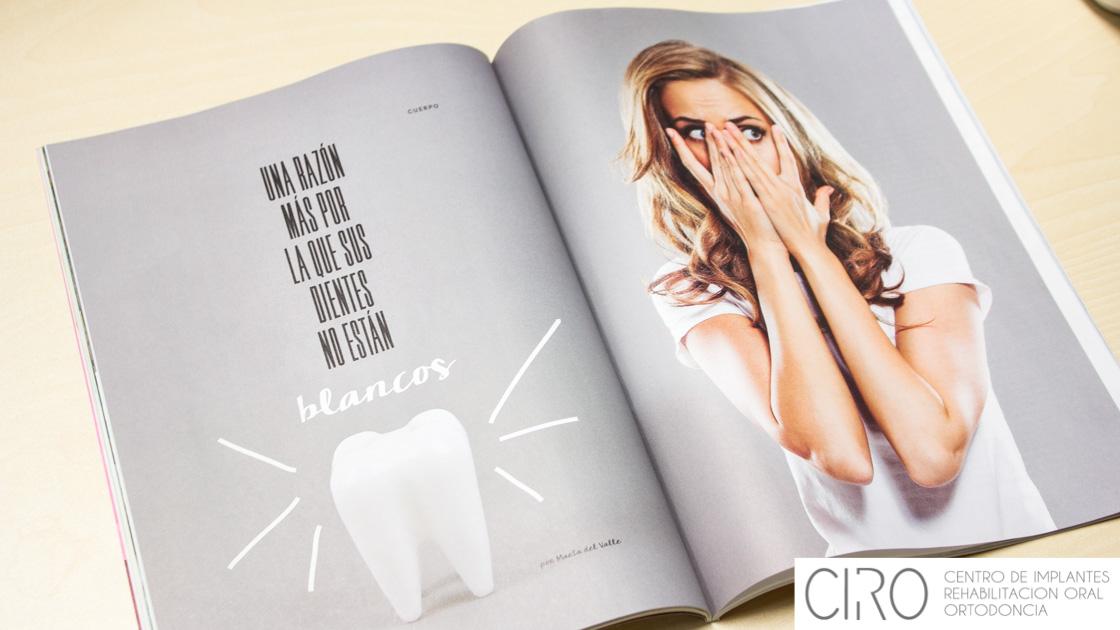 Los doctores Jiménez hablan en El País sobre desgaste dentario