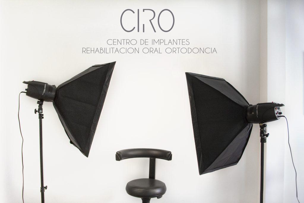 Estudio fotográfico Clínica dental CIRO Madrid