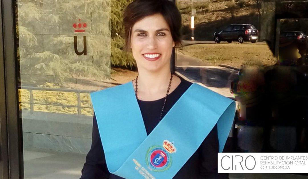 Premio extraordinario doctoral para la Dra. Isabel Giráldez