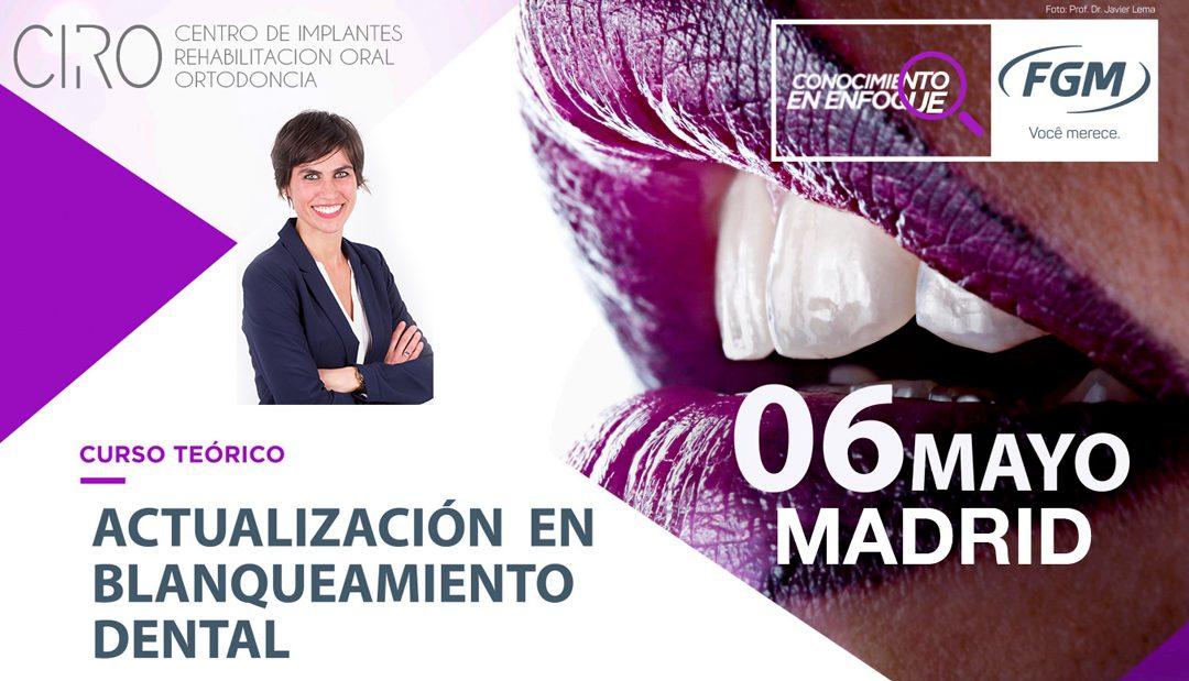 Nuevo curso impartido por la Dra. Giráldez en Madrid el 6 de mayo