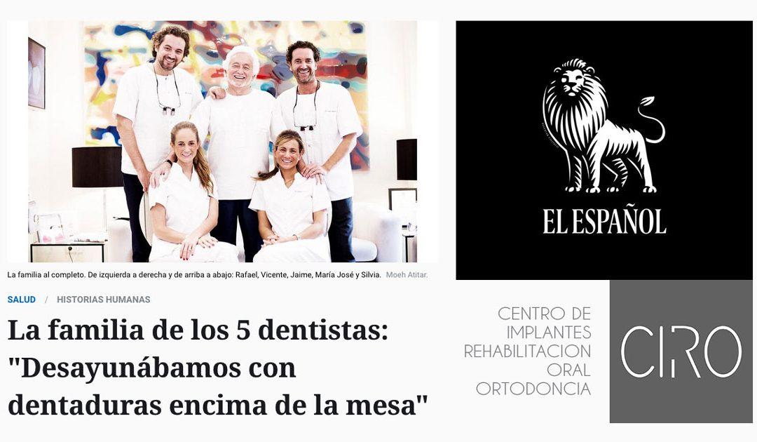 El Español entrevista a los Dres. Jiménez