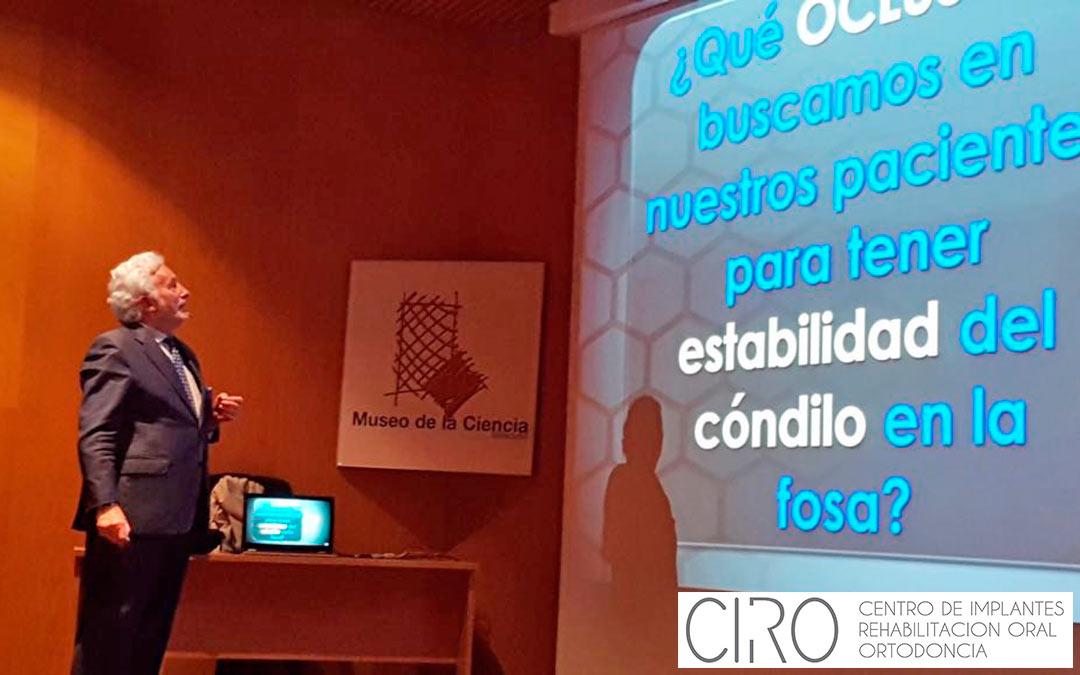El Dr. Vicente Jiménez imparte un curso sobre Oclusión en Colegio Oficial de Odontólogos y Estomatólogos de la VIII Región