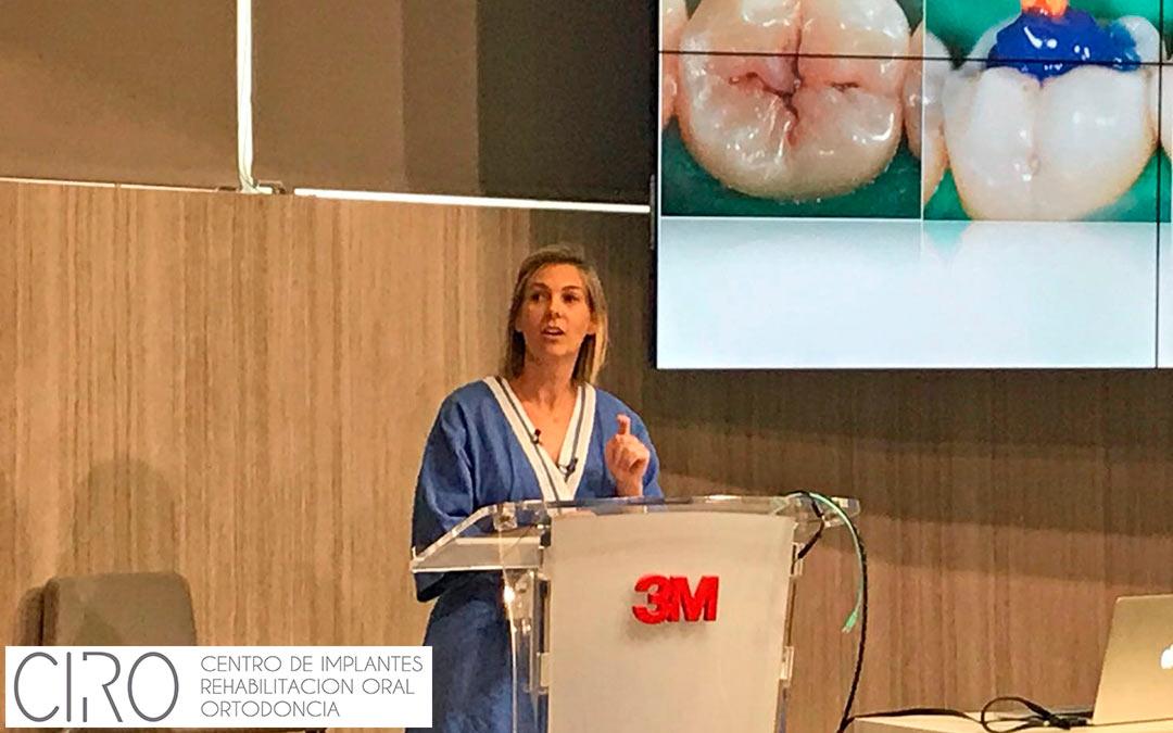 Ponencia de la Dra. Ceballos sobre Odontología de Mínima Intervención