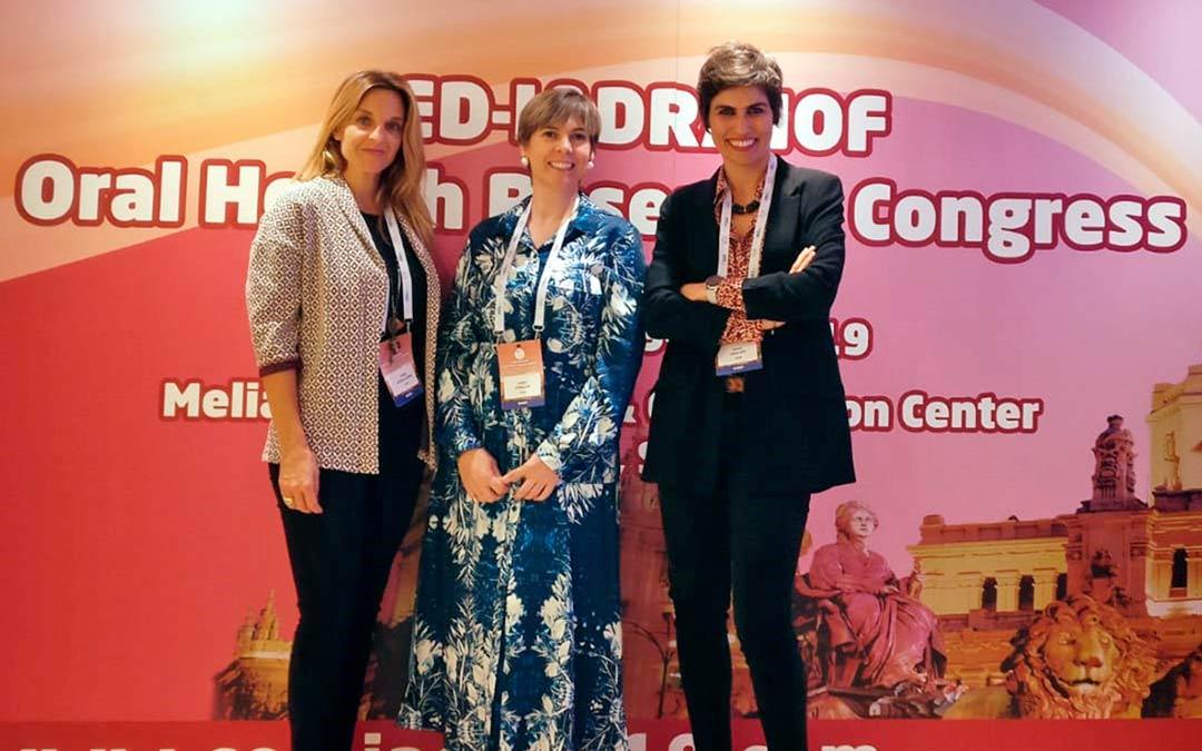 Participación en el CED-IADR/NOF Oral Health Research Congress