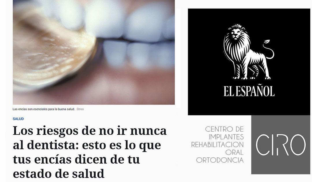 La Dra. María José Jiménez colabora en un reportaje de El Español