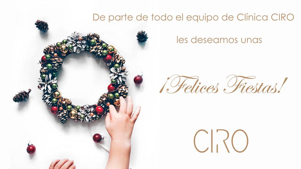 Clínica CIRO les desea Feliz Navidad